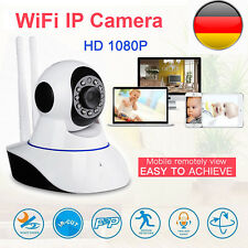 Wireless WIFI IP Kamera 1080P Überwachungskamera Webcam Wlan Camera Nachtsicht