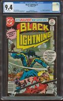 BLACK LIGHTNING #1 CGC 9.4  1ST APPEARANCE AND ORIGIN NEWSSTAND EDITION