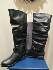 APT. 9 APRIENE BLACK SLOUCH TALL RIDING BOOTS WOMENS SHOES SZ 6 M NEW $85