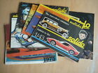 RARE Vintage SOLIDO Catalogues 1968 - 1980/81 - 11 in total; vgc. 50+ years old!