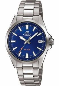 NEW Casio Silver Mens Watch Edifice EFV-110D-2AVUEF