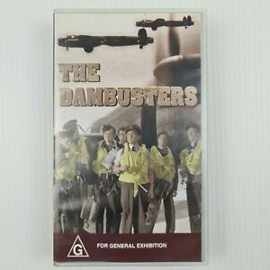 The Dam Busters - VHS Tape - WW2 - TRACKED POSTAGE