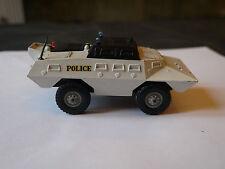 SOLIDO MILITAIRE TOUT TERRAIN POLICE COMMANDO XM 706 REF 224 USA BLANC DE 1970