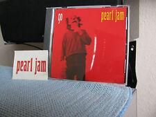 Pearl Jam CD Go, USA Promo with Promo Sticker