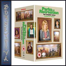 PARKS & RECREATION - COMPLETE SEASONS 1 2 3 4 5 6 & 7  **BRAND NEW DVD BOXSET***