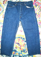 LEVI'S 501 xx Vintage Button Fly Jeans Made in USA W35 L27.25 c.1986-1991
