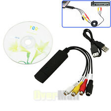 Hot Sale Easycap USB2.0 Video Audio VHS to DVD Converter Capture Card Adapter