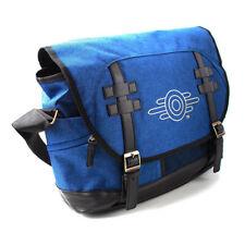 FALLOUT 76 Vault-tec Logo Messenger Bag, Unisex, Blue/Black (MB645372FAL)