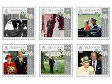 ISLE OF MAN 2017 platinum anniversary Queen Elisabeth   postfris/mnh