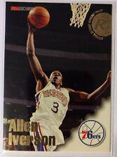 Allen Iverson 1996-97 NBA Hoops 295 Philadelphia 76ers RC Rookie, HOF