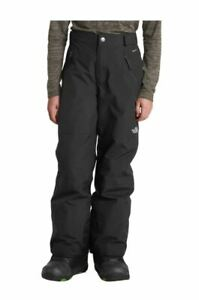 The North Face Freedom Insulated Pant Boys Youth S M L Black Snow Ski Sports