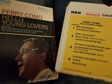 Perry Como Hello Young Lovers 8 track Stereo Tape RCA C8S-1940 w box