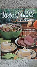 Taste of Home Annual Recipes 2003 Hardcover  FREE SHIPPING EC