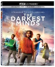 The Darkest Minds 2018 4K (Ultra HD, Blu-ray) With Slipcover **MINT**