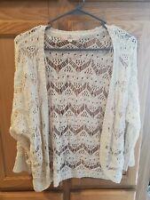 Pink Republic Womens Knit Cardigan Size Medium