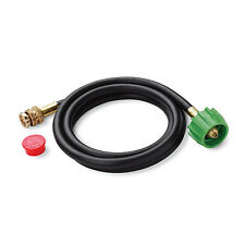 Weber 6501 Propane Tank Adapter Hose for Q Series Go-Anywhere Gas Grills 6 Ft