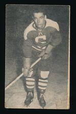 1952-53 St Lawrence Sales (QSHL) #103 LARRY REGAN (Shawinigan) -Bruins, Leafs