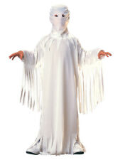 WHITE GHOST GHOUL GOBLIN UNISEX CHILDREN SIZE LARGE 12-14 HALLOWEEN COSTUME