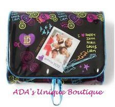 1D One Direction Swirls Hearts Glitter Travel Bag Harry Zayn Niall Louis Liam