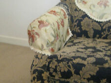CHAIR ARM CAP COVER /lilly design, protects funiture,top quality made in england