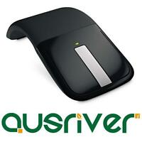 Genuine Microsoft MS Arc Touch Mouse Wireless Cordless USB Flat
