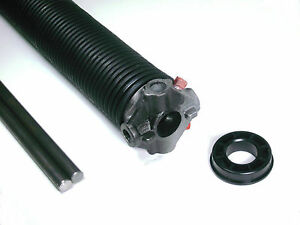 """Garage Door Torsion Spring- SINGLE LW .218 x 2"""" x Select Length -with Options"""