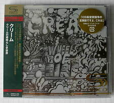 CREAM - Wheels Of Fire JAPAN SHM 2CD OBI NEU RAR! UICY-90750-1 ERIC CLAPTON