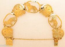 Cavalier King Charles Jewelry Gold Bracelet by Touchstone