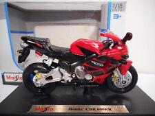 Moto HONDA CBR 600RR Red Maisto 1/18