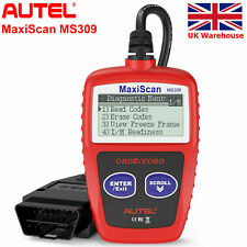 Autel MaxiScan MS309 OBD2 Car Diagnostic Tools Code Reader Scanners Check Engine