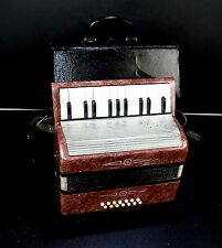 Vintage Russian Accordion Malis 14 BASS+Case-=MADE IN USSR=- Instrument for kids