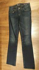 Silver Jeans Suki Mid Rise Baby Boot Fluid Denim Jeans 25 x 33 Women's