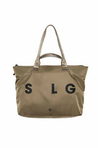 Stighlorgan TLR Laptop Tote Bag In Coyote Brown HD210D Nylon With Dual Straps