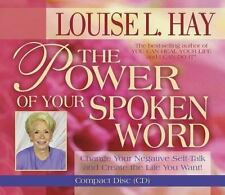 THE POWER OF YOUR SPOKEN WORD   Louise L. Hay    (CD)   New, Sealed