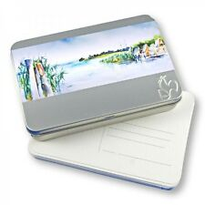 Hahnemuhle Watercolour - 30 Postcards in a Metal Tin