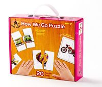 "Star Right ""How We Go"" Puzzle - Set of 20 (40 pcs) w/ Puzzle Frame Included"