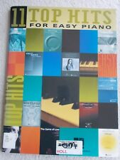 11 Top Hit Songs Arr EZ Piano Variety Don't Know Why Others Unmarked