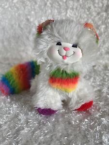 Rainbow Brite Kitty Cat Stuffed Plush Animal Mattel 1983 Hallmark Vintage Flaws