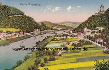 Porta Westfalica 1933 nach Magdeburg - Deutsches Reich Der alte Fritz 6 Pfennig