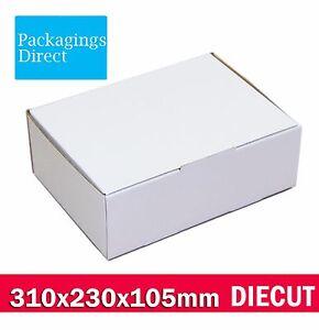 100x Diecut Mailing Box 310 x 220 x 102mm Shipping Carton A4 BM BX2