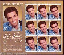 Elvis Presley 25th Anniversary Unmounted Mint Stamp Sheet from Maldives