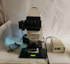 Leica Dmrxa Leitz Dmrd Upright Fluorescence Microscope With Ebq100 Power Supply