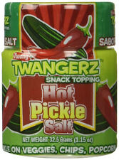 HOT PICKLE SALT - SPICY PICKLES FLAVORED SEASONING SNACK TOPPING 1 OZ SHAKER