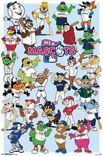 MLB BASEBALL - MASCOTS POSTER - 22x34 - 15659