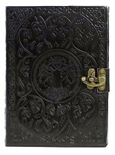 New Vintage Handmade Leather Journal,Tree of Life Diary, Travel Journal