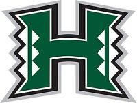 University of Hawaii Warriors Vinyl DieCut Sticker Decal Logo NCAA 4 Stickers