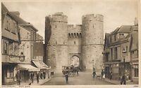 POSTCARD   KENT     CANTERBURY   West  Gate