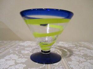 Kosta Boda Royal Caribbean Handblown Martini Glass (1pc)