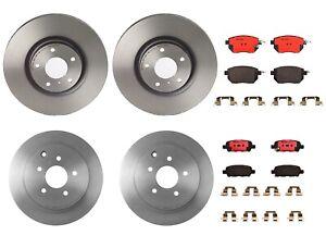 Brembo Front Rear Full Brake Kit Disc Rotors Ceramic Pads For Infiniti FX45 FX35