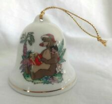Disney Christmas Bell Ornament Grolier Collectibles 022 Jungle Book
